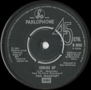 Paul McCartney - Coming Up (Vinyl, 7) (gebraucht VG)