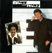 Paul McCartney - Ebony and Ivory (Vinyl, 7) (gebraucht VG)