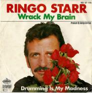 Ringo Starr - Wrack My Brain (Vinyl, 7) (gebraucht G+)