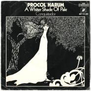 Procol Harum - A Whiter Shade Of Pale (Vinyl, 7) (gebraucht G+)