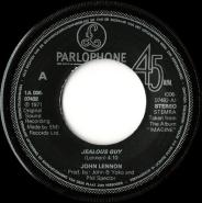 John Lennon - Jealous Guy (Vinyl, 7) (gebraucht G+)