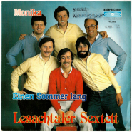 Lesachtaler Sextett - Monika/Einen Sommer lang (Vinyl, 7) (gebraucht G+)