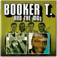 Booker T. and the MGs - Green Onions/Soul Dressing (2 on 1 CD Album) (used VG+)