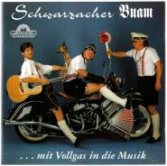Schwarzacher Buam - ...mit Vollgas in die Musik (CD, Album) (used VG+)