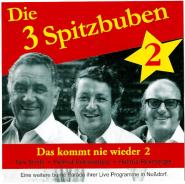 Die 3 Spitzbuben - Das Kommt Nie Wieder 2 (CD, Comp.) (gebraucht VG+)