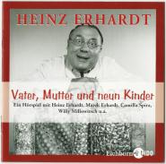 Heinz Erhardt - Vater, Mutter und neun Kinder (CD, Hörspiel) (gebraucht VG-)