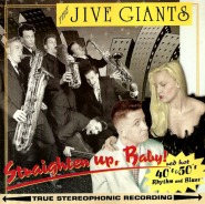 The Jive Giants - Straighten Up, Baby! (CD, Album) (gebraucht VG)