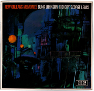 Bunk Johnson, Kid Ory, George Lewis - New Orleans Memories (LP, Comp.) (gebraucht VG-)