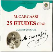 Minoru Inagaki - M. Carcassi - 25 ETUDES OP.60 (CD, Classical Guitar) (gebraucht VG)