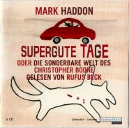 Mark Haddon - Supergute Tage (5CD, Hörbuch) (gebraucht VG+)