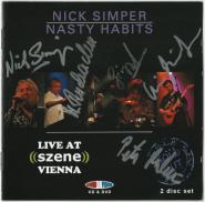 Nick Simper & Nasty Habits - Live At Scene Vienna (CD, DVD, signiert) (gebraucht VG)