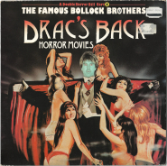 The Bollock Brothers - Dracs Back/Horror Movies (Vinyl, 12 Single) (used VG-)