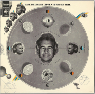 Dave Brubeck - Adventures In Time (2LP, Compilation) (gebraucht VG)