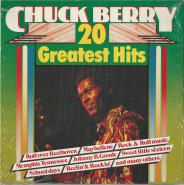 Chuck Berry - 20 Greatest Hits (LP, Compilation) (gebraucht VG)