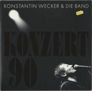 Konstantin Wecker & Band - Konzert 90 (2LP, FOC, Album) (used VG)