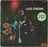 Cream - Live Cream (LP, Album) (used G)