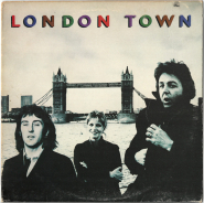 Wings - London Town (LP, Album) (gebraucht G-)
