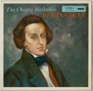 Frederic Chopin Artur Rubinstein - The Chopin Ballades (LP, Club) (used VG)