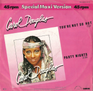 Carol Douglas - Youre Not So Hot (12 Maxi Single) (gebraucht G+)