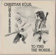 Christian K�lbl, Roman Krenn - To Find The Words... (LP, Album) (gebraucht VG)