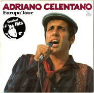 Adriano Celentano - Europa Tour (LP, Compilation) (used G)