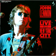 John Lennon - Live In New York City (Laserdisc, Japan, NTSC, Reissue) (gebraucht VG+)
