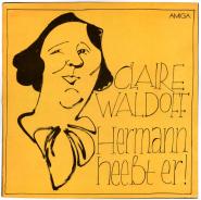 Claire Waldoff - Hermann Hee�t Er! (LP, Comp.) (used VG)