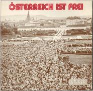 Frank Hoffmann, Dr. Ernst Glaser - Österreich Ist Frei (LP, Album) (gebraucht VG+)