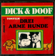 Dick & Doof - Drei Arme Hunde (Super 8 Film, s/w, 45m, Ton) (gebraucht G)