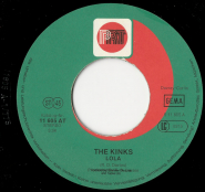 The Kinks - Lola / Sunny Afternoon (7 Single, Fehldruck) (gebraucht G-)