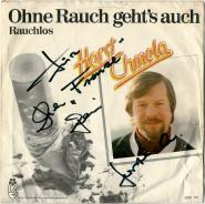 Horst Chmela - Ohne Rauch gehts auch / Rauchlos (7 Single, Autogramm) (gebraucht G)