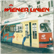 VARIOUS - Wiener Linien 100 Jahre (CD, Compilation, signed) (used VG+)