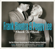 Frank Sinatra & Peggy Lee - Cheek To Cheek (2CD, Songbook) (used NM)