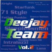 VARIOUS - DEEJAY TEAM Vol. 2 (CD, Compilation) (gebraucht VG)
