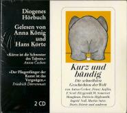 Diogenes H�rbuch - Kurz und b�ndig (2CD, Lesung) (gebraucht NM)