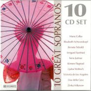 VARIOUS - 10 Great Sopranos (10CD, Slimbox, Compilation) (gebraucht VG+)
