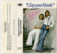 Waterloo & Robinson - Clap Your Hands (Audiokassette, Album) (gebraucht VG)