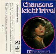 VARIOUS - Chansons leicht frivol (Audiokassette, Compilation) (gebraucht VG)