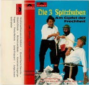 Die 3 Spitzbuben - Am Gipfel der Frechheit (Audiokassette, Album) (used G+)