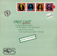 Free - Free Live (LP, Album) (gebraucht VG-)